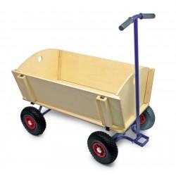 Velký dřevěný vozík