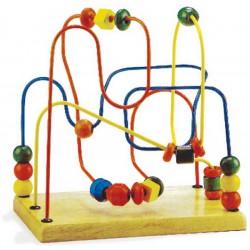 Dřevěný motorický labyrint