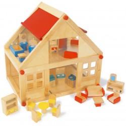 dreveny-domecek-pro-panenky-s-nabytkem
