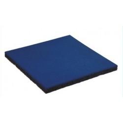 Dopadová gumová dlaždice 500x500x45mm, modrá