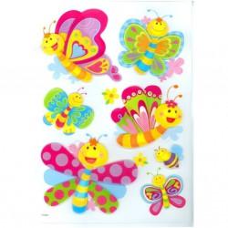 Samolepící dekorace Kamarádi Motýlci