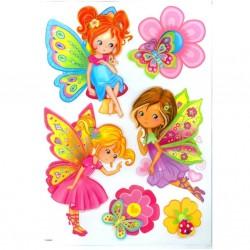 Samolepící dekorace Motýlková víla