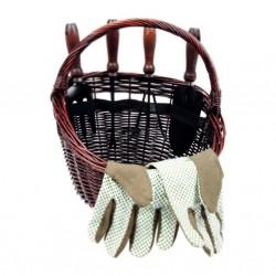 Košík s vybavením na zahradu
