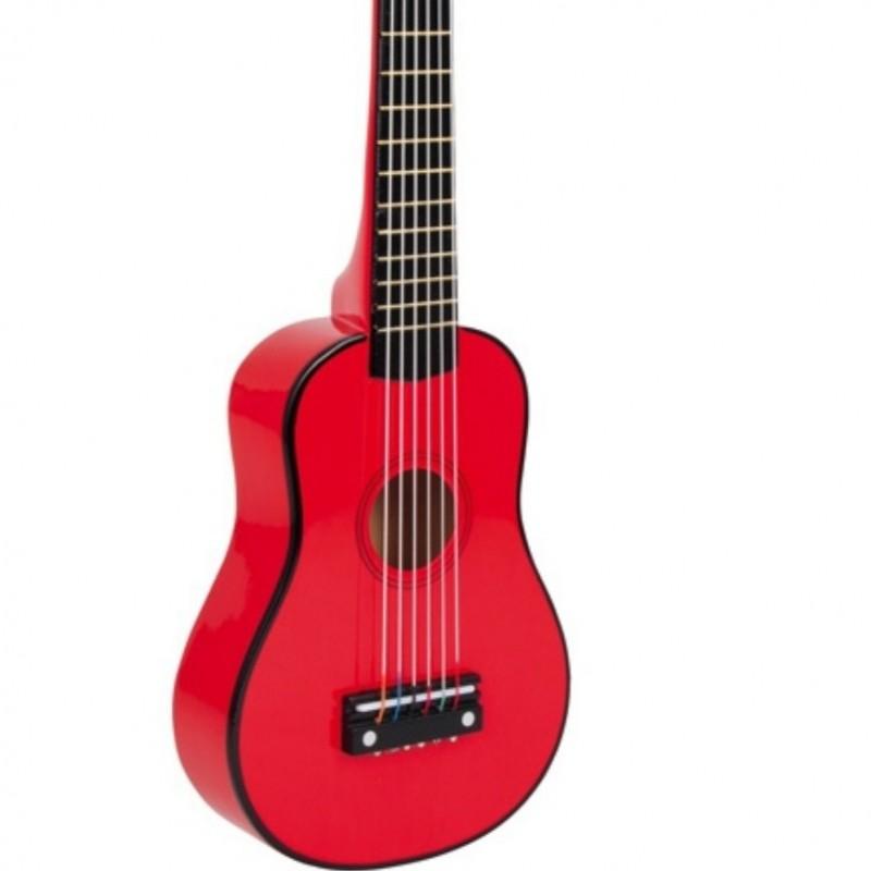 Dětská kytara Red. Loading zoom f079adb745