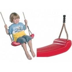 Plastová houpačka Swing seat, červená