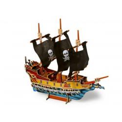 3D Puzzle - Pirátská loď I.