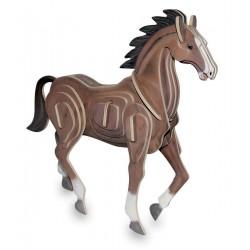 3D Puzzle - Kůň