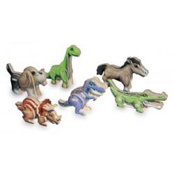 3D puzzle - 6 mini zvířátek