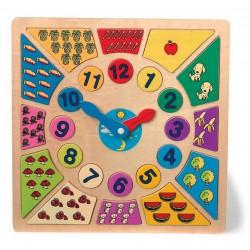 Puzzle Nauč se hodiny