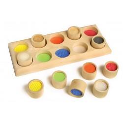 Dřevěná hra - Pexeso pro ruce