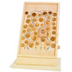 Dřevěná hra s kuličkou