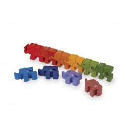 Puzzle Nauč se počítat, Sloni