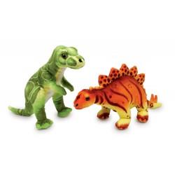 Plyšový Dinosaurus Ronny a Conny, 2 ks v balení