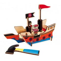 3D Puzzle - Pirátská loď II