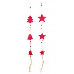 Vánoční dekorace - Girlanda II, 2 ks
