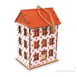 Vánoční dekorace - Světlo Vysoký dům