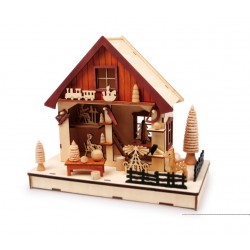 Vánoční dekorace - Světlo Továrna na hračky