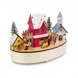 Vánoční dekorace - Hrací skříňka Vánoční čas