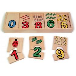 Puzzle Nauč se čísla