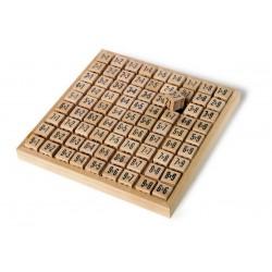 Násobilka, dřevěné kostky