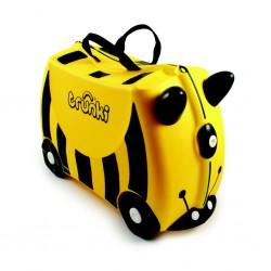TRUNKI včelka BERNARD kufr na hračky / odrážedlo