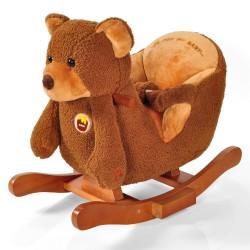 ROCK ME BABY - Houpací medvěd se zvuky TEDDY