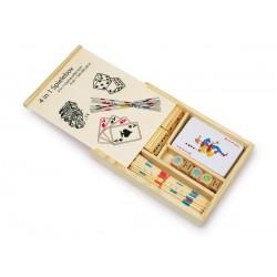 Hrací box - 4 hry v 1