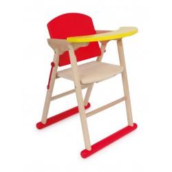 Vysoká skládací židlička pro panenky Diana