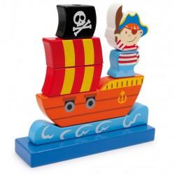 Nasouvací hra Pirátská loď