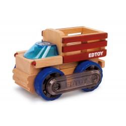 Dřevěné autíčko - Multifunkční nákladní auto
