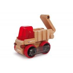 Dřevěné autíčko - Korbový sklápěč
