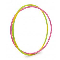 Obruč Hula Hoop Neon, 2 ks, průměr 66-71 cm