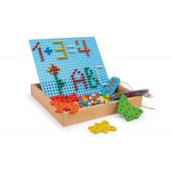 Nasouvací a navlékací puzzle