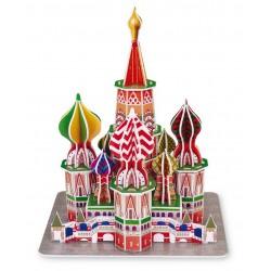 3D Puzzle Basilova katedrála