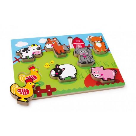 Puzzle Zvířecí farma
