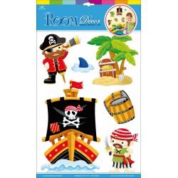 Samolepící dekorace Piráti