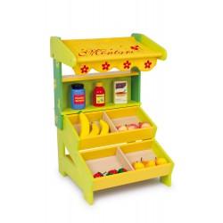 Dětský dřevěný prodejní stánek Nora