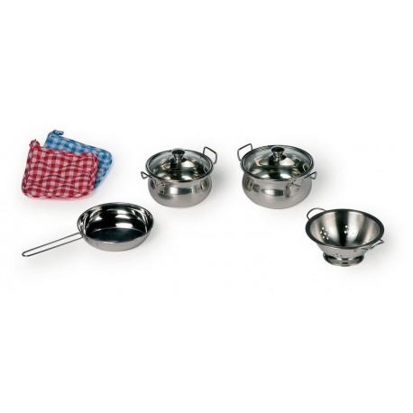 Kuchyňské nádobí na vaření, 8 dílů