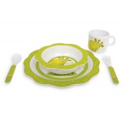 5-ti dílný Dětský jídelní set, motiv Gismo