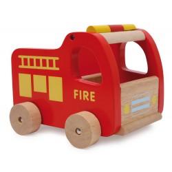 Dřevěná auta Záchranáři, 3 ks